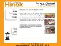 Zimmerei-Tischlerei H.Hinck, Otterndorf